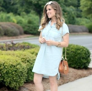 OLD NAVY DENIM DRESS D718
